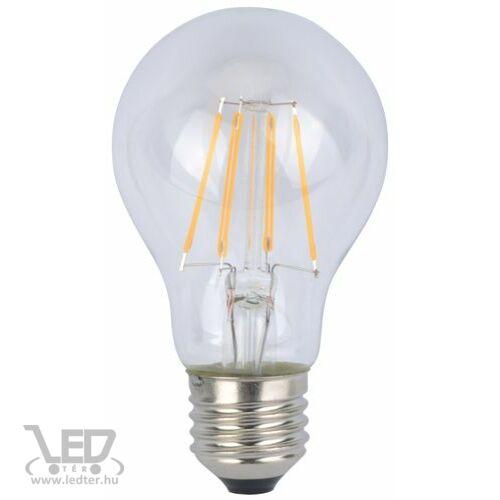 Filament körte E27 LED izzó melegfehér 6W 620 lumen