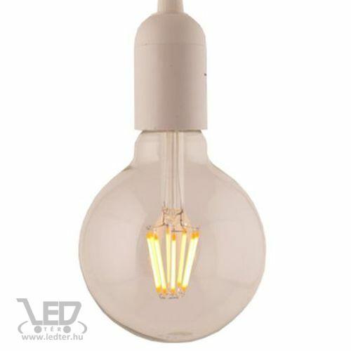 Filament retro E27 LED izzó melegfehér 8W 1000 lumen