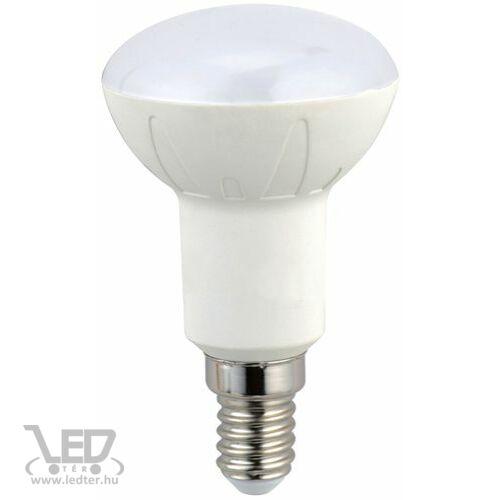 R50 fejű E14 LED izzó melegfehér 6W 600 lumen