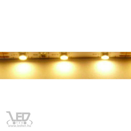 Beltéri melegfehér 60LED/m 2835 chip 4.8 W 480 lm/m LED szalag