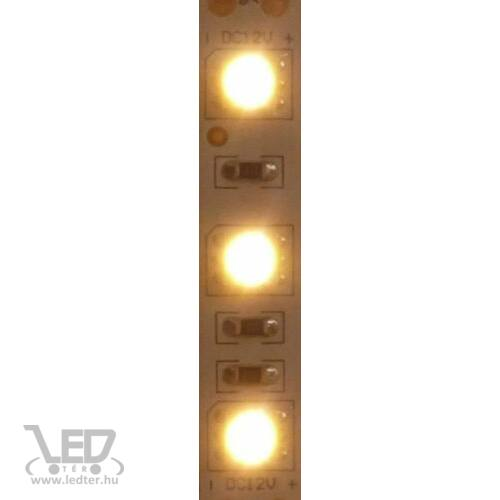 Beltéri melegfehér 60LED/m 5050 chip 13.2 W 1090 lm/m LED szalag