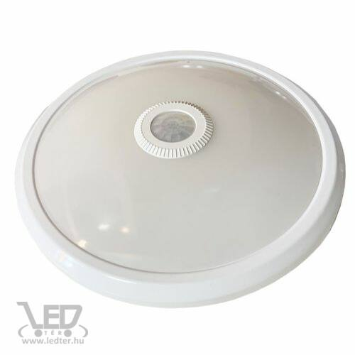 Mozgásérzékelős LED UFO lámpa melegfehér 10W 860 lumen