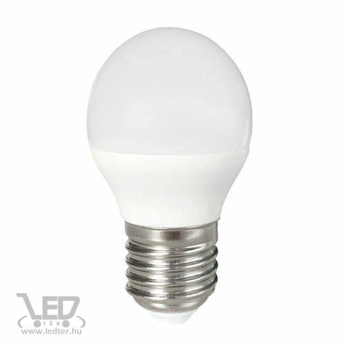 Középfehér-4000 8W=60W 800 lumen Kis körte E27 LED izzó