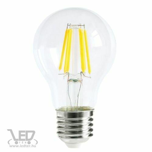 Filament kis körte E27 LED izzó középfehér 6W 700 lumen