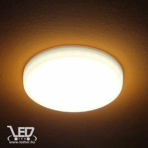 Középfehér-4000 10W=80W 1000 lumen Kör alakú oldalra is világító LED panel