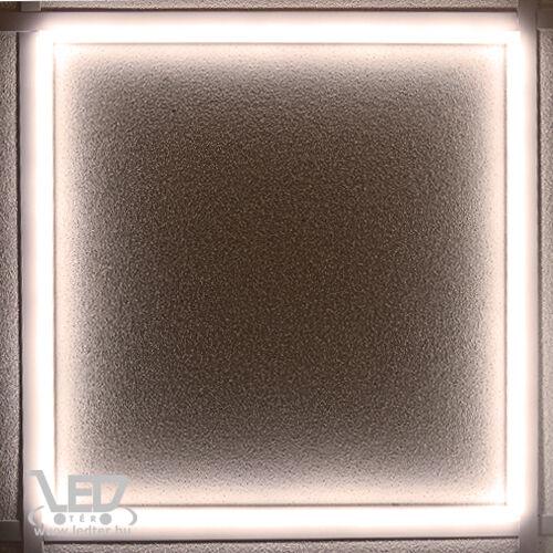 Led panel világító keret, 60x60 cm, 48W, 4600 lumen, 4000K, közép fehér. Nem vibrál a fénye!