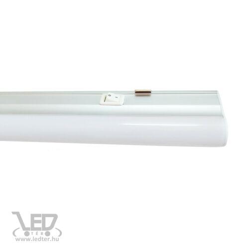 LED bútorvilágító lámpa kapcsolóval 120cm középfehér 20W 1840 lumen