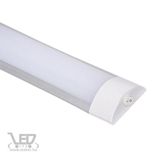 Bútorvilágító LED lámpa kapcsolós 60cm középfehér 20W 1520 lumen