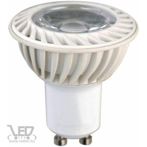Hidegfehér-6000K 4W=30W 360 lumen COB GU10 LED izzó