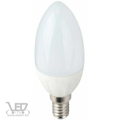 Hidegfehér-6000K 5W=50W 550 lumen Gyertya E14 LED izzó