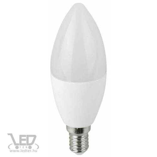 Gyertya E14 LED izzó hidegfehér 7W 710 lumen