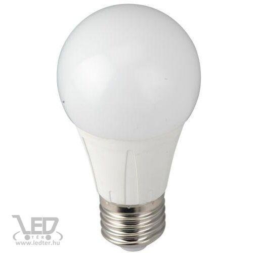 Normál körte E27 LED izzó hidegfehér 6W 650 lumen