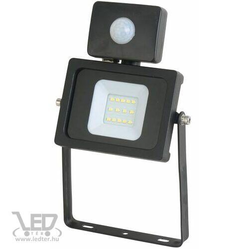 Mozgásérzékelős LED reflektor hidegfehér 10W 880 lumen