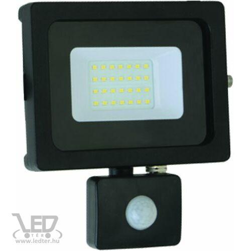 Mozgásérzékelős LED reflektor hidegfehér 20W 1700 lumen