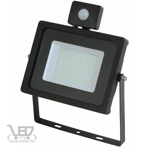 Mozgásérzékelős LED reflektor hidegfehér 50W 4440 lumen