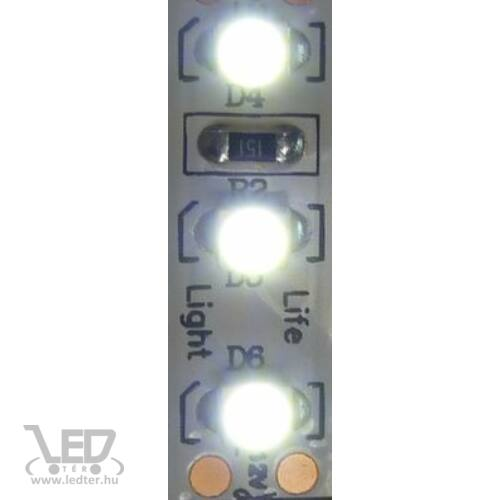 Beltéri hidegfehér 120LED/m 2835 chip 9.3 W 1100 lm/m LED szalag