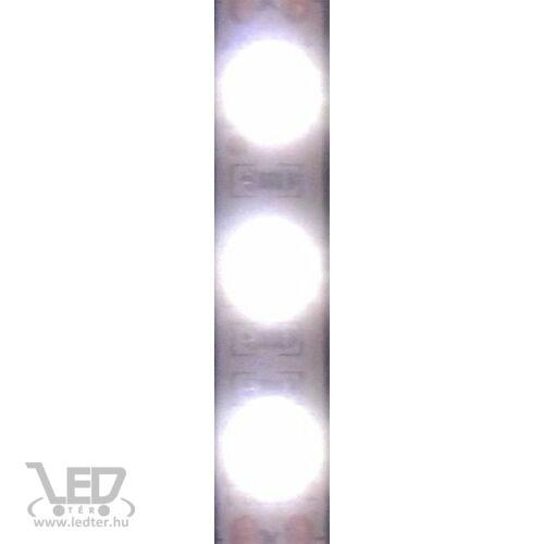Hidegfehér 60 LED/m 5050 chip 13,2W 1190 lumen/m LED szalag