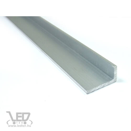 Aluminium L profil 20 mm x 10 mm LED szalaghoz