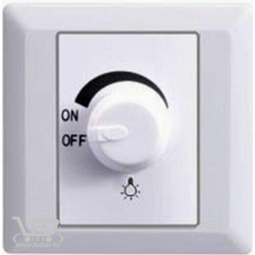 Led dimmer fényerőszabályozós kapcsoló 1-630W között