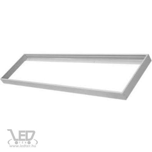 Keret 30x120 cm LED panelhez ezüst színű!