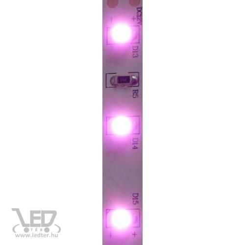 Kültéri pink 60LED/m 2835 chip 4.8 W 120 lm/m LED szalag