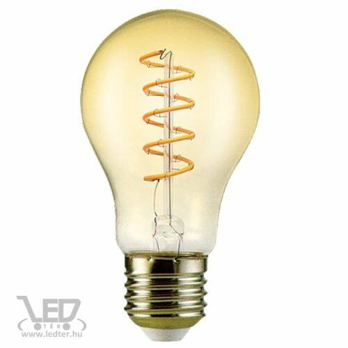 Filament körte E27 LED izzó extra melegfehér 6W 500 lumen