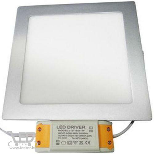 LED panel kocka alakú Melegfehér 16W 1230 lumen
