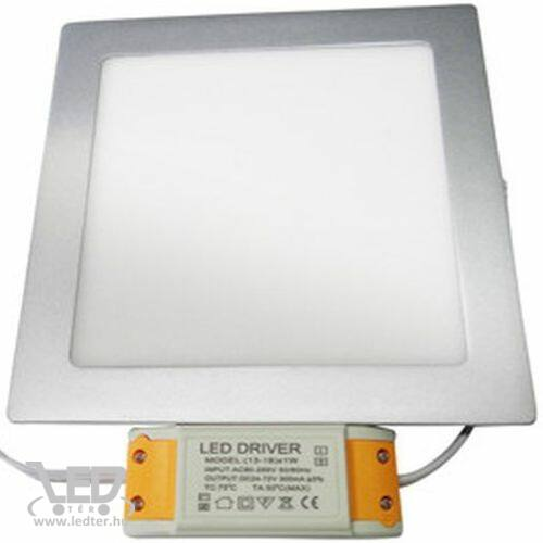 LED panel kocka alakú melegfehér 18W 1320 lumen
