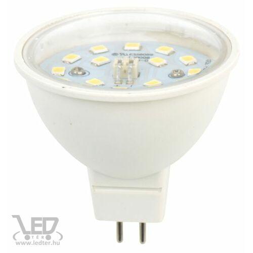MR16 átlátszó burás LED izzó melegfehér 7W 770 lumen