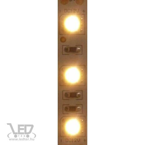 Beltéri melegfehér 120LED/m 2835 chip 9.3 W 960 lm/m LED szalag