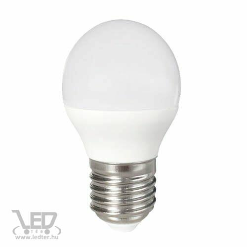 Kis körte E27 LED izzó középfehér 8W 800 lumen