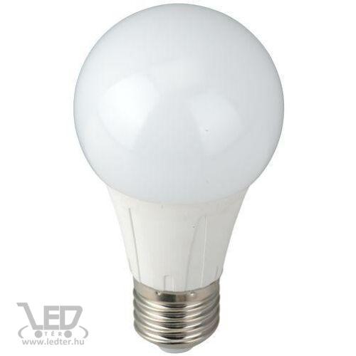 Normál körte E27 LED izzó középfehér 8W 850 lumen