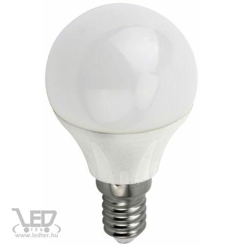 Dimmelhető kisgömb E14 LED izzó középfehér 6W 600 lumen