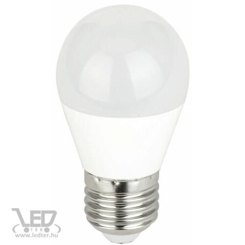 Kis körte E27 LED izzó hidegfehér 7W 700 lumen
