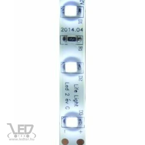 Kültéri hidegfehér 60LED/m 2835 chip 4.8 W 460 lm/m LED szalag