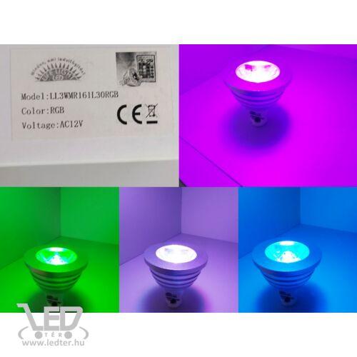 RGB színváltós MR16 izzó
