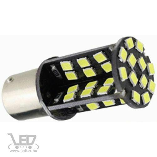 BA15Y Canbus fék/helyzetjelző 60 LED 5050 chip piros 5 W 450 lumen autós LED