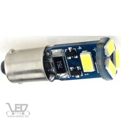BA9S Canbus helyzetjelző/index 5 LED sárga 1,5 W 115 lumen autós LED