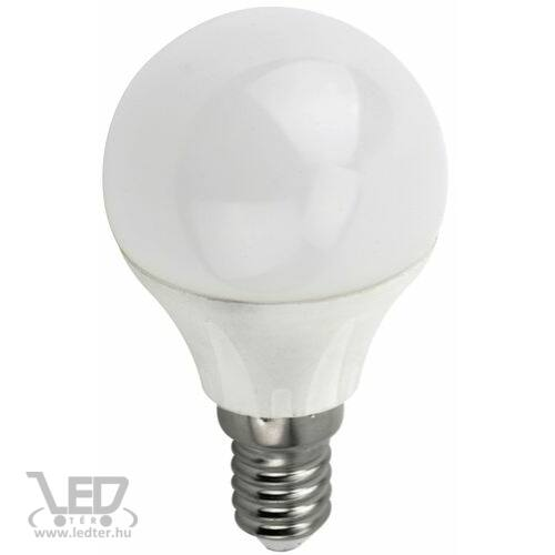 Kisgömb E14 LED izzó melegfehér 4W 400 lumen