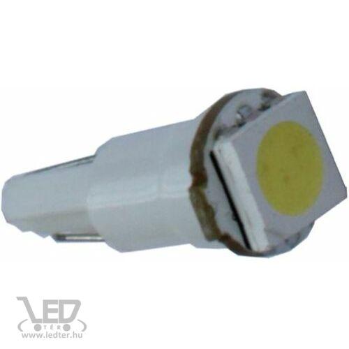 T5 műszerfal világító hidegfehér 0,4 W 15 lumen autós LED