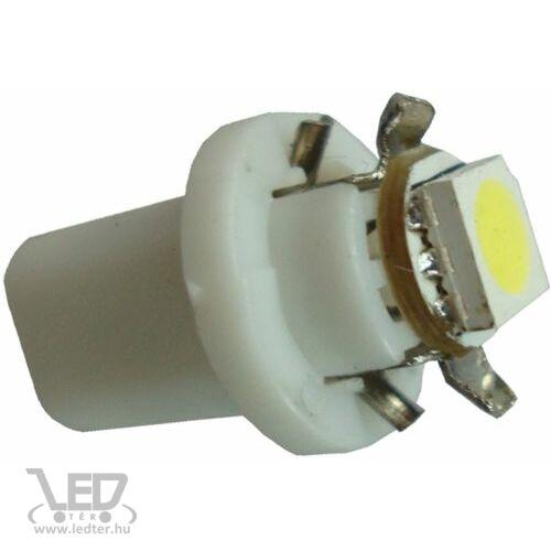 B8.5 műszerfal világító hidegfehér 1 W 23 lumen autós LED