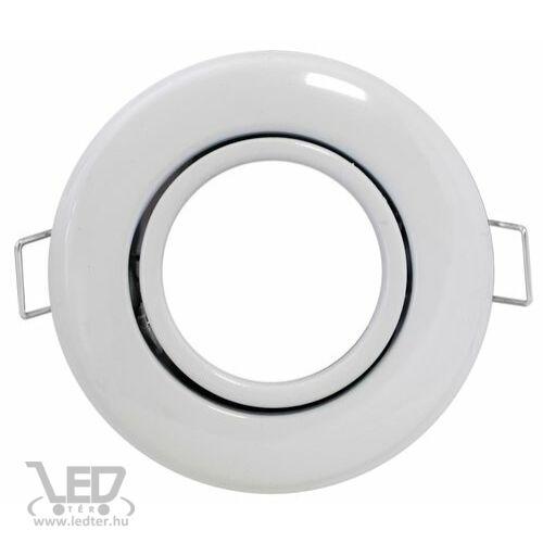 Beépíthető spot lámpatest, fehér, billenthető