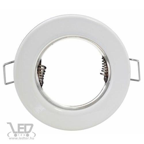 Beépíthető spot lámpatest, fehér, fix