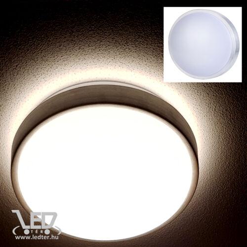 Kör alakú LED UFO lámpa melegfehér 18W 830 lumen