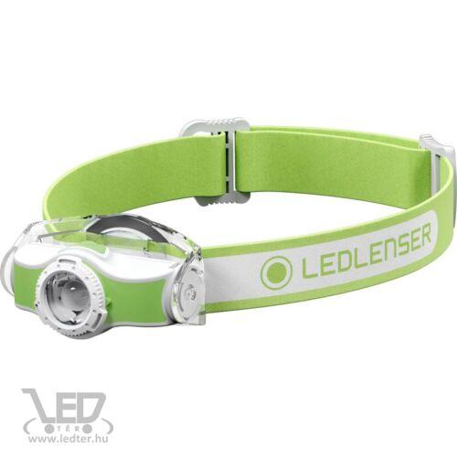 LedLenser MH5 outdoor tölthető LED fejlámpa 400lm/180m 1x14500 Li-ion, zöld