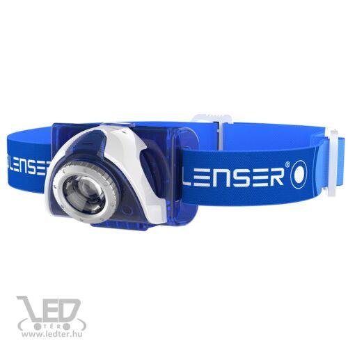 LedLenser SEO7R tölthető fejlámpa kék