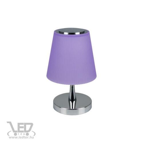V-TAC 5W középfehér-4000K 300 lumen króm+lila LED olvasólámpa