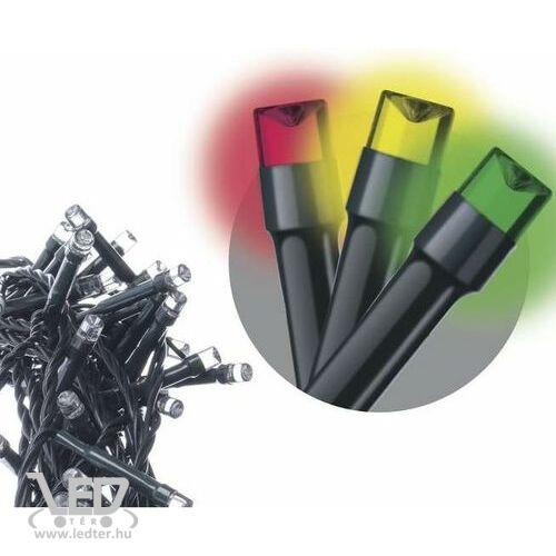 Rizsszem LED fényfüzér  120 db multicolor LED